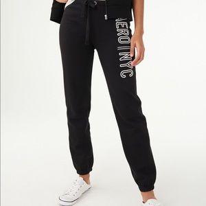 aeropostale black nyc sweatpants